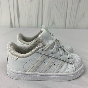 ADIDAS SUPERSTAR SNEAKER TODDLER SIZE 6K